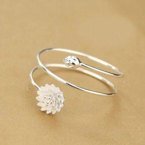 bracelet mariee fleur
