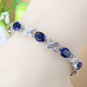 bracelet bleu mariage
