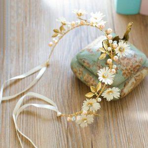bijou de tete mariage fleur