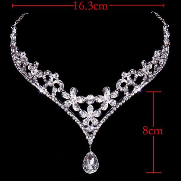 bijoux de tete mariage strass