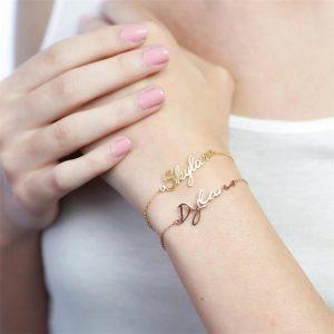 bracelet mariage personnalisé