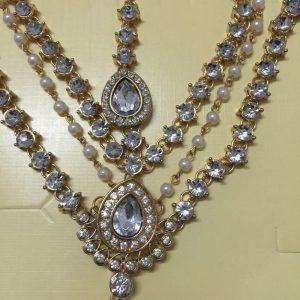 bijoux de tete hijab mariée doré