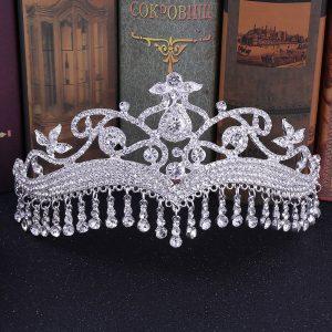 bijoux de tete mariage hijab