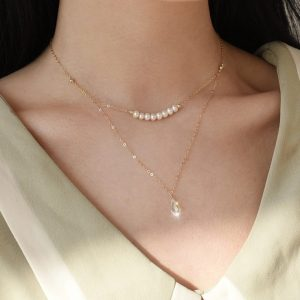 collier pour mariée