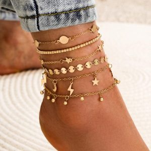 bracelet cheville boheme
