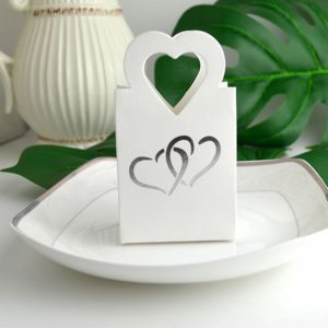boite dragée mariage blanc