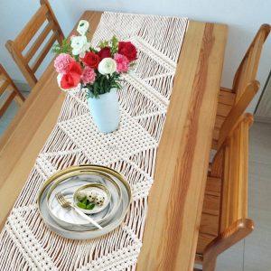 chemin de table mariage boheme