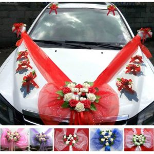 deco de voiture mariage