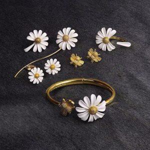 bracelet de mariee en fleur