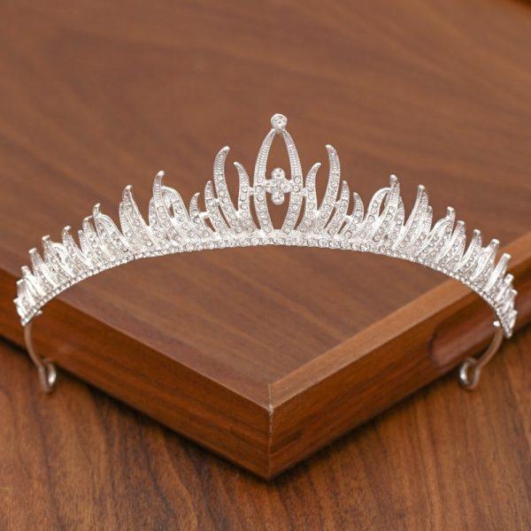 Diademe mariage diamant